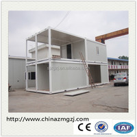 Prefab flat pack office or living room shipping modular container house