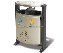 outdoor street waste stand garbage bin / litter bins ---D-01