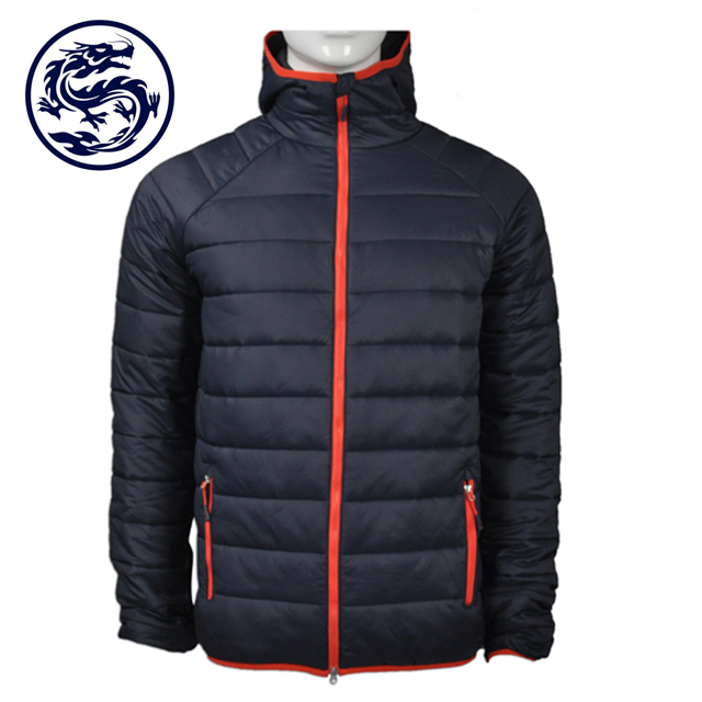 Detachable Hooded Goose Feather Winter Down Jacket For Men