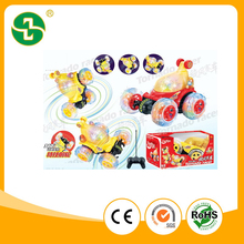 Hot Selling R/C 360 Rolling Stunt Car with 3D light and music 3color