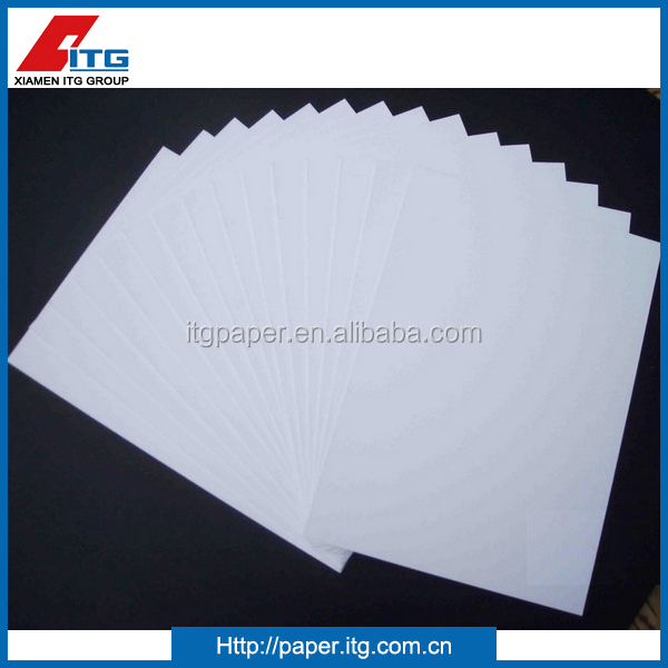 Duplex board paper with grey back