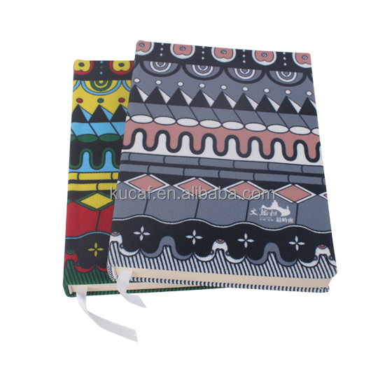 Custom Moleskin Style Canvas Cover Notebook A5
