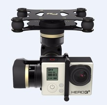 FY Multirotor Drones Steady MINI 3-Axis Brushless Gimbal for Aircraft Gopro4 and Gopro3 and 3+