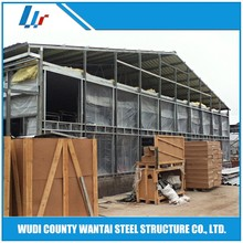 light weight prefabricated steel structure chicken house