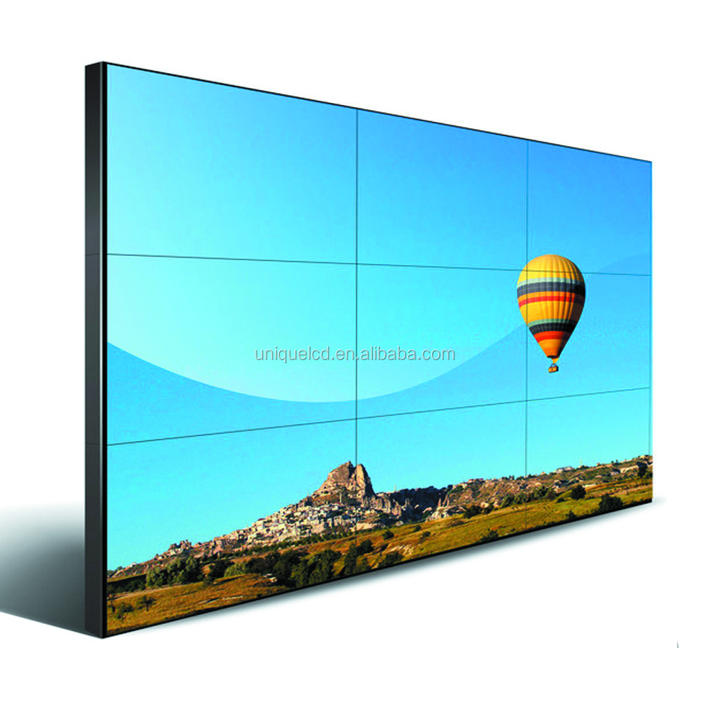 china cheapest CE Metal Case D-Sub hight brightness lcd video wall multi <strong>screen</strong>