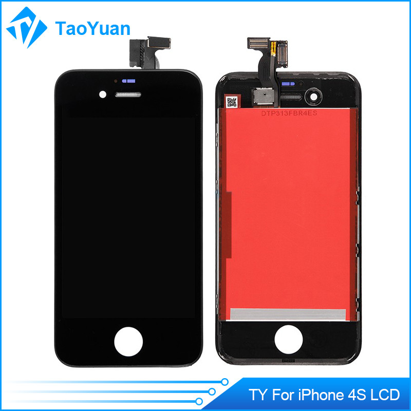 Cheap LCD Display+Touch Screen Digitizer Front Housing Full Set W/Frame + Tools Assembly For Apple iPhone 4S