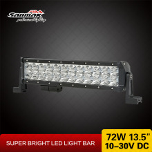 72w Auto Led Work Light Forklift Fire Engine Work Light bar