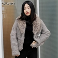 CX-G-A-23 Fur Popular and Fashion Quality Raccoon Fur Coats