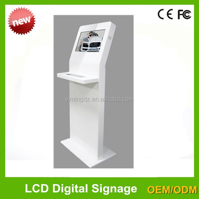 22inch touch display singage