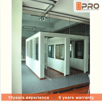 Design picture office glass partition aluminum profile product