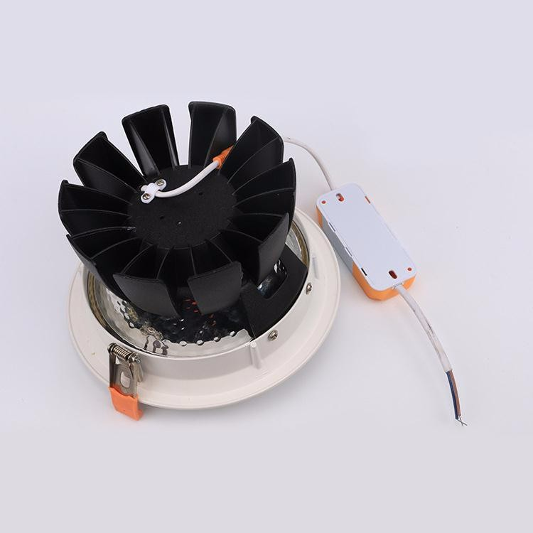 High quality led downlight recessed led downlight COB led downlight 30w