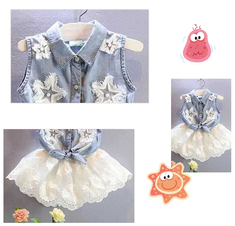 2018 cool design 6 year old beautiful girls baby net frock dress kids short skirts