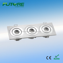 12V 3w slim led downlight,square ultra thin led downlight