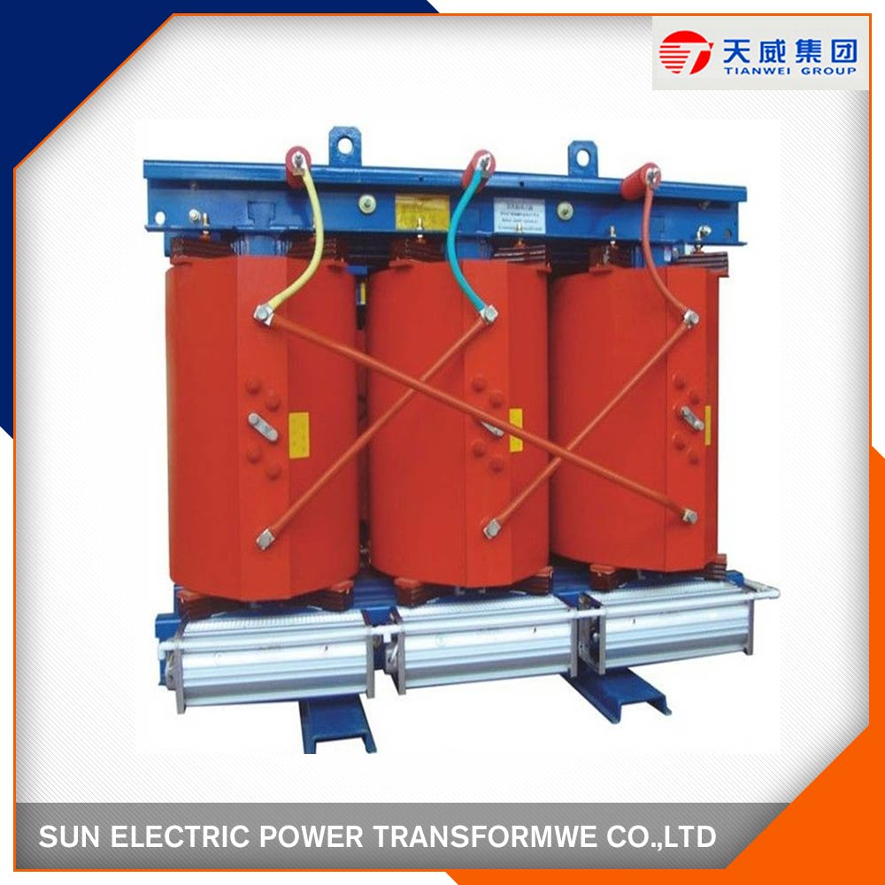 Three Phase Epoxy Resin Casting Dry Type Amorphous Alloy Core Transformer
