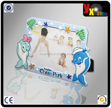 Low price good quality soft pvc photo frame for advertising