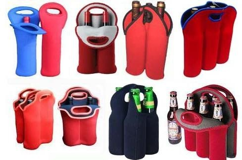 Neoprene bottle carrier Water Bottle Sleeve Kettle cooler Bag for wine