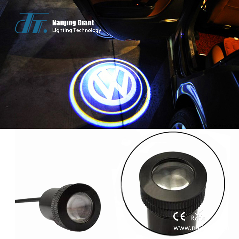 GLC-02 Led Emblem Car Door Laser Ghost Shadow Welcome Logo Light Projector