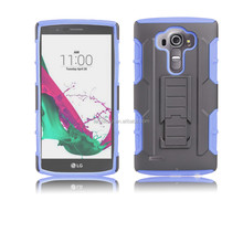 Heavy Duty Tough Shockproof Kickstand Hard Case for LG G4