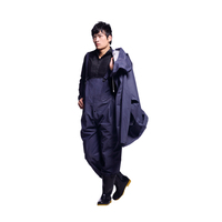 good quality nylon/polyester/pvc workers robertsons rainwear raincoat
