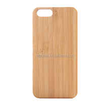 Ever Blue high quality pc wood cover case for iphone 7,for iphone 7 bamboo wood case accept laser carving