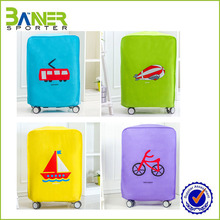2016 colorful waterproof durable luggage cover protector