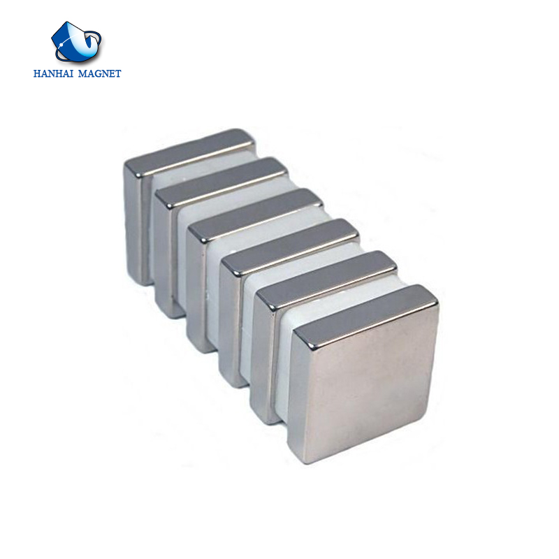 Supply wholesale price ndfeb neodymium square magnets