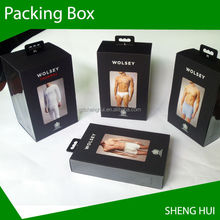 QUALITY UNDERWEAR CLOTHING GIFT BOX PACKING BOX