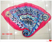 2013 Fashion promotional lady's Voile Scarf