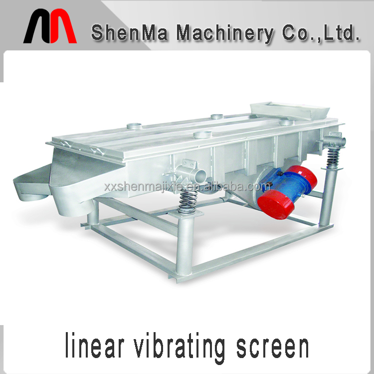 China widely used automatic linear vibrating screen