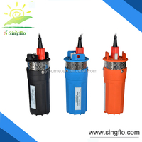 Singflo 12v 24v dc solar power irrigation pump/solar borehole pump/solar aquarium pump