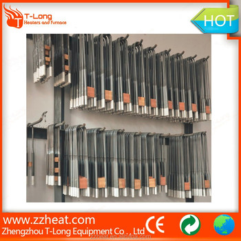 U shape MoSi2 Heating Element rod for electric furnace