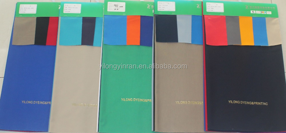 Polyester/Cotton T80/C20 21*21 108*58 3/1 twill dyed fabric for workwear