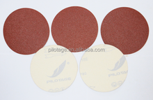 Aluminum oxide sanding paper velcro disc to polishing for wood paint and metal
