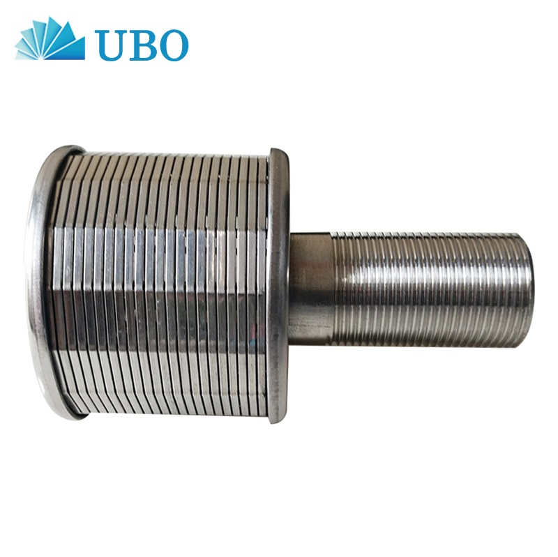 SS wedge wire screen sand filter nozzle for water treatment