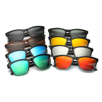 Summer color plastic wholesale ray band brand polarized sunglasses with TAC lens gafas de sol