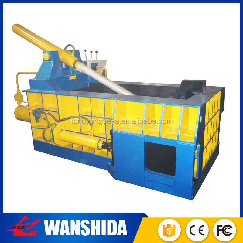 Y83-2000 Hand valve easy operation hydraulic small baler baling press for scrap metal