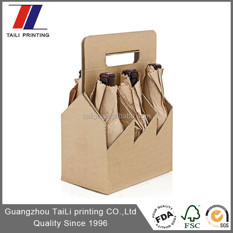 Disposable Cardboard Wine Carriers