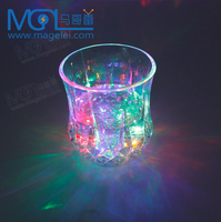 PS material Pineapple LED drinking cup for bar/party