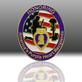 America's Pruple Heart Recipents Lapel Pins For Honoring custom metal high quanlity