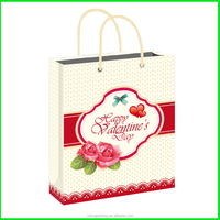 Yiwu Yilong Custom Printed Grocery Shopping Brown Ivory Paper Bag