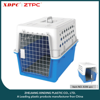 New Design Hot Selling Outdoor airline approved plastic pet carrier