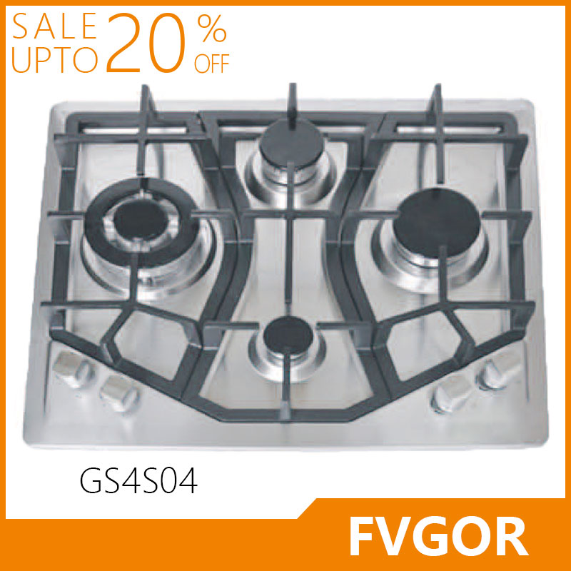 GS4S04 Low price cast iron gas stove in dubai