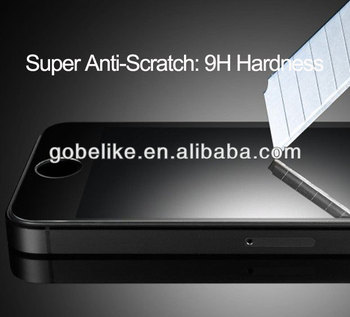 Tempered glass screen protector for iphone 5s
