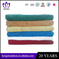 solid color terry face towels/hand towel cotton