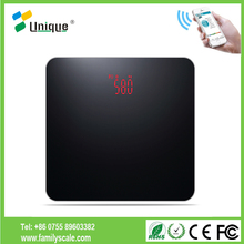 180kg Auto High Quality Health Care Wireless Digital Smart Body Weighing Bathroom Scale