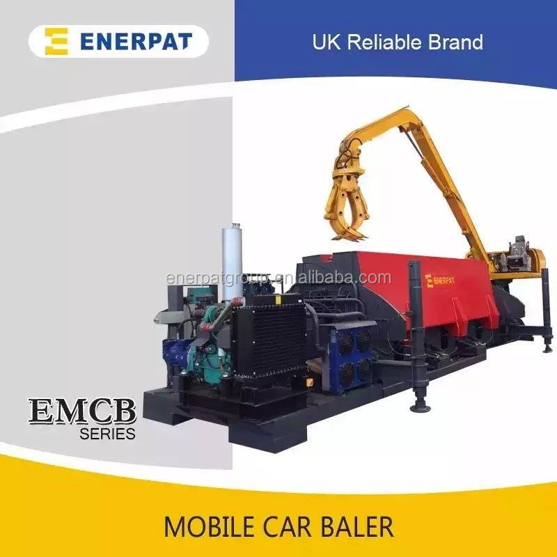 Europe popular car crusher/car baler machine for sale with competitive price