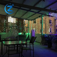 China wholesale cheap price flashing CE waterprorf outdoor glitter color changing led triangle christmas programmable net light