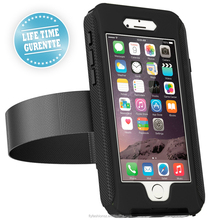 Waterproof phone case for iphone case with shockproof and armband