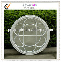 oval metal decorative mirrors living room