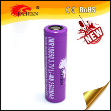 Original purple IMREN 18650 2500mAh rechargeable li-mn battery 40A battery pk imren new 18650 2600mah 50amp